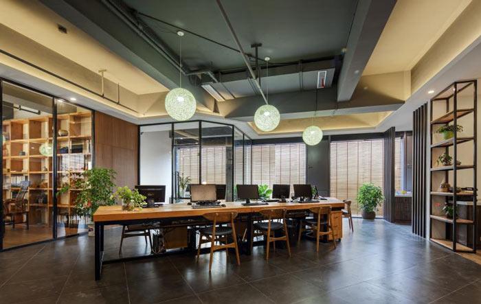 静安区贸易公司办公室装修设计..