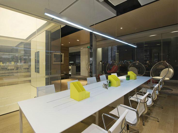 徐汇设计事务所550平米办公室设计..
