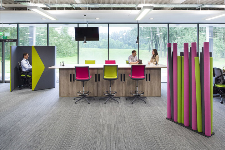 品牌设计公司840平米办公室装修设计
