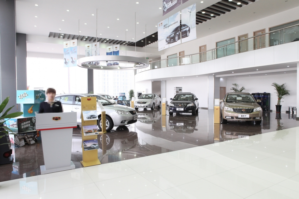 黄浦汽车4S店展厅装修设计效果图