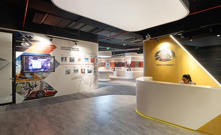 美国Gates集团上海办公设计效果
