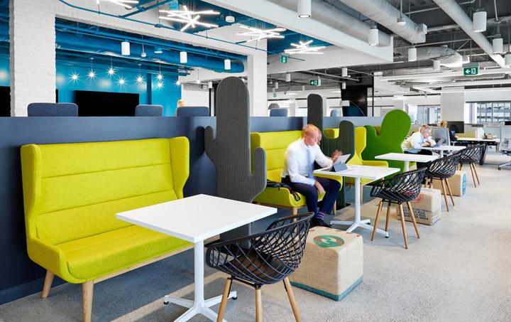 Aviva保险集团多伦多国外办公室设计