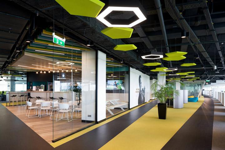 Adidas莫斯科办公室设计效果(徐汇办公处)