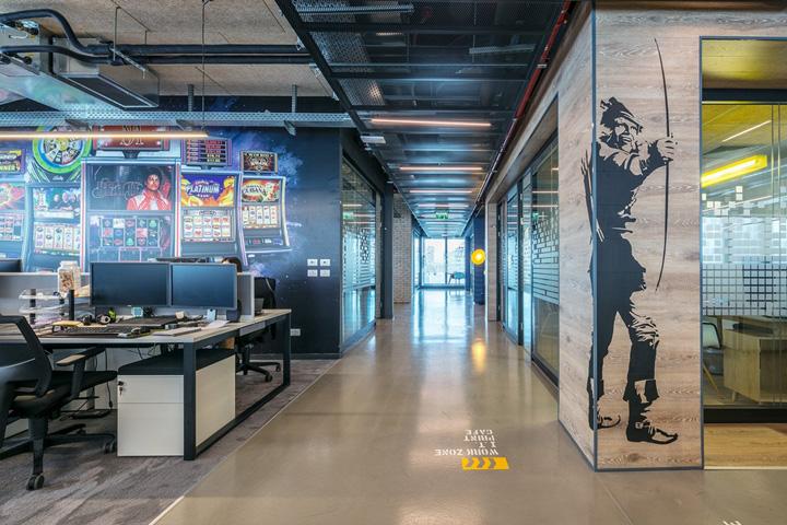 外企游戏公司上海徐汇办公室设计