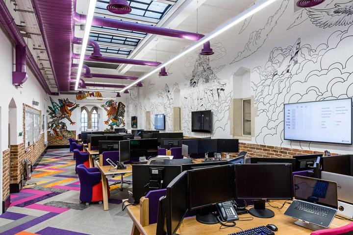 英国金融科技公司上海长宁办公室设计