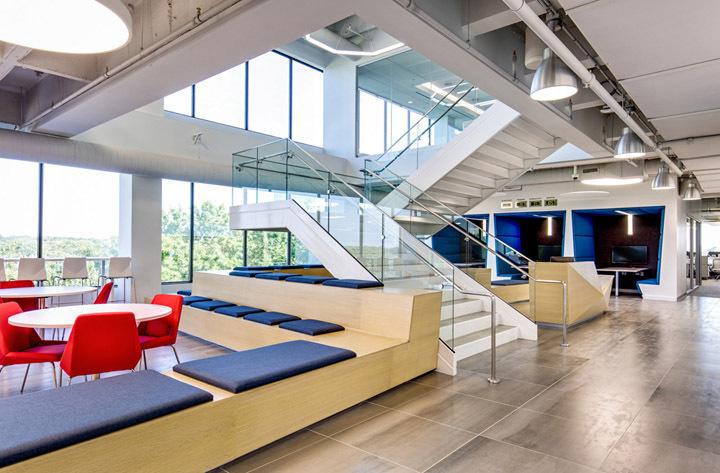 办公室楼梯设计效果图