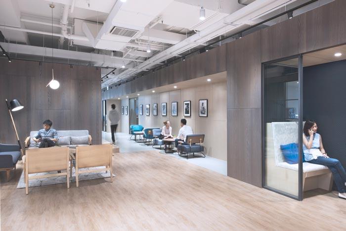 2200平米外企公司办公室设计装修