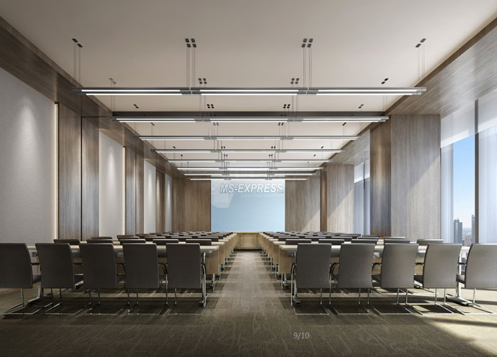 电子商务公司会议室设计装修效果