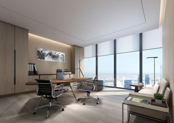 电子商务公司总经理办公室设计方案