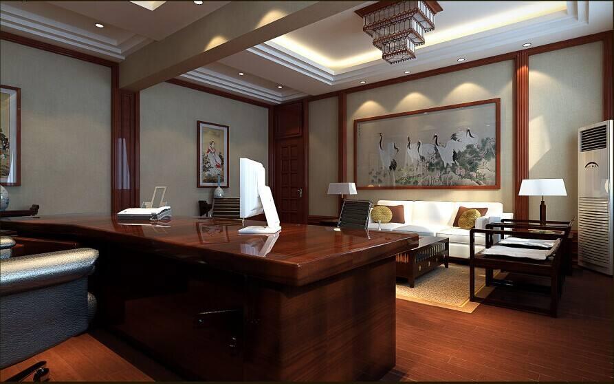 上海公司总经理办公室设计说明