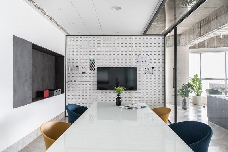 闵行七宝办公室设计装修效果图