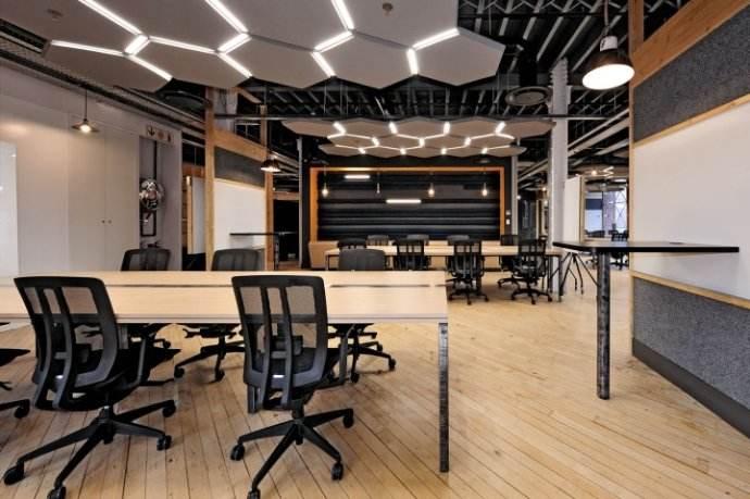 上海300平米老办公室翻新改造