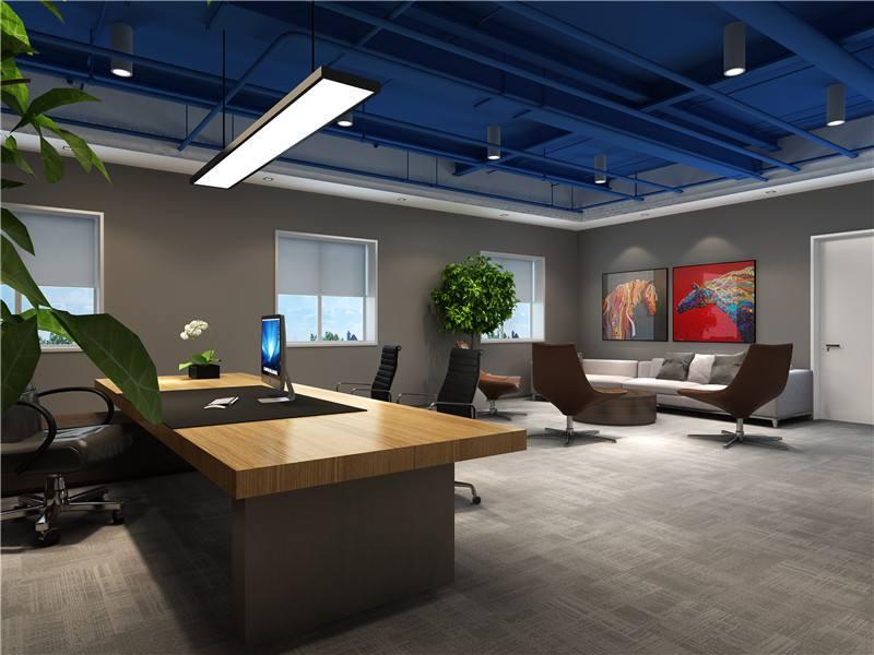 上海网络公司总经理办公室改造翻新