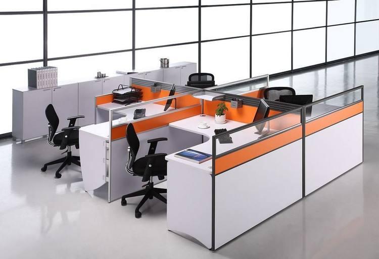上海办公楼装修设计:介绍办公桌的摆放禁忌