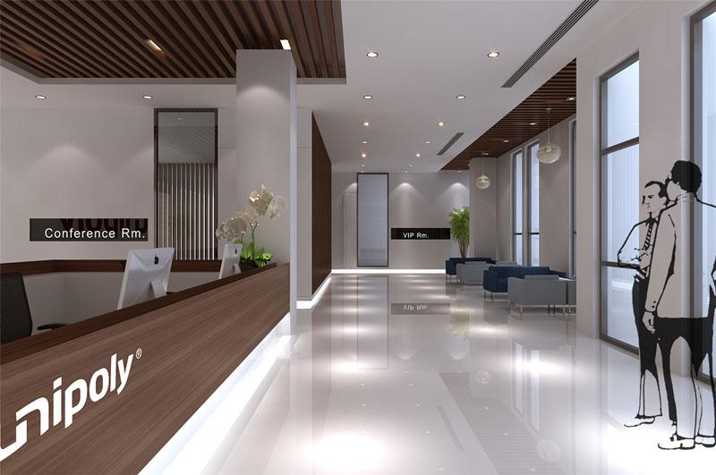 黄浦办公室装修-冉聚科技公司办公室设计
