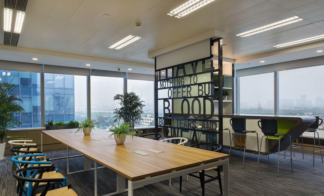 静安区兴业大厦办公室装修改造设计