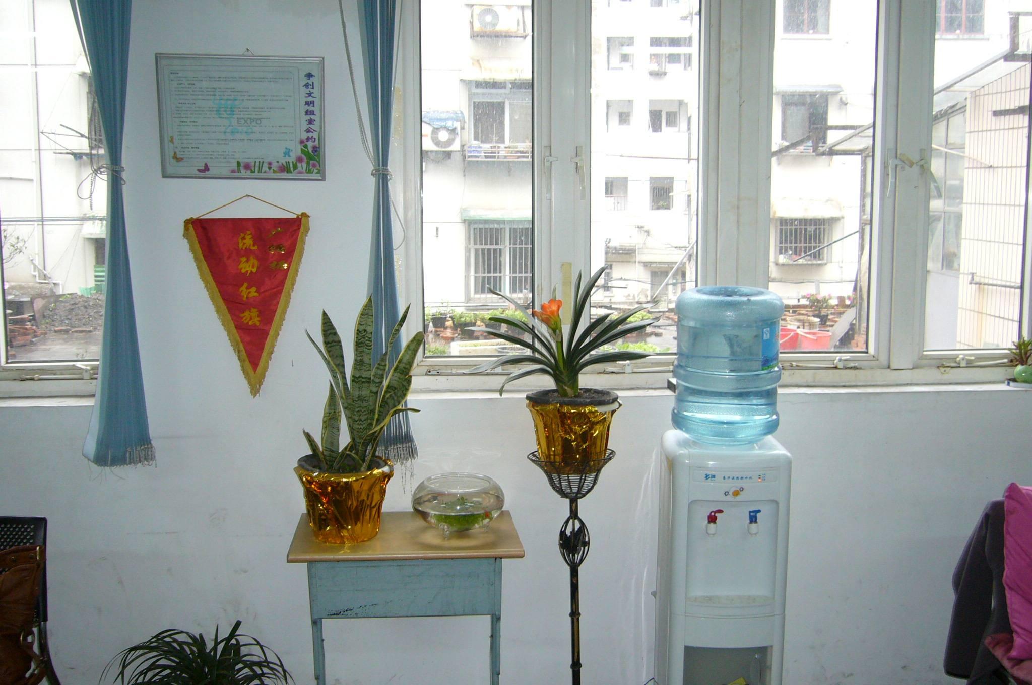 上海办公室装潢设计:讲办公室饮水机位置风水