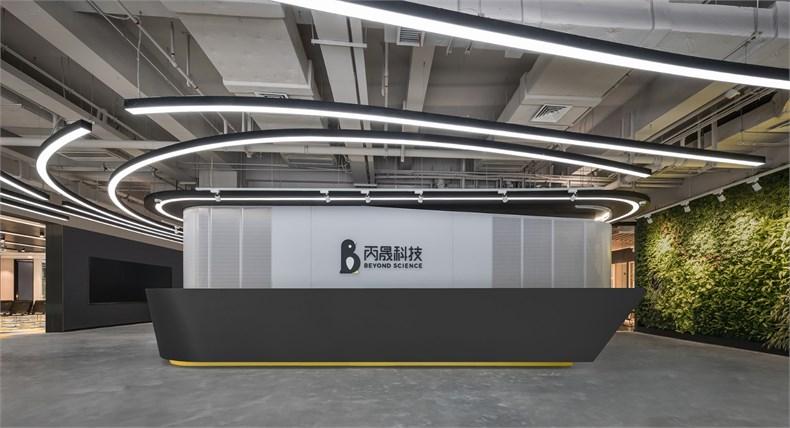 上海装修网络公司前台设计装修效果