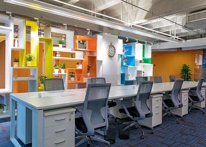 奉贤880平米创意办公室装修效果