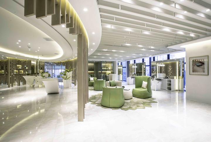 松江600平美容整形公司办公室装修案例