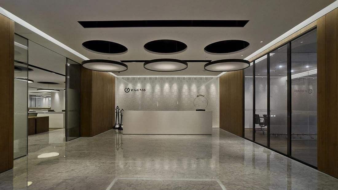 上海办公室装修前台接待区办公室设计类型