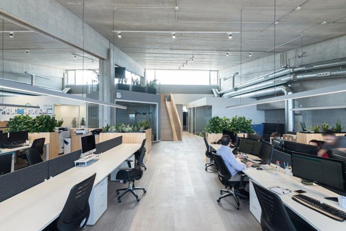 松江800平米货运公司办公室装修设计效果