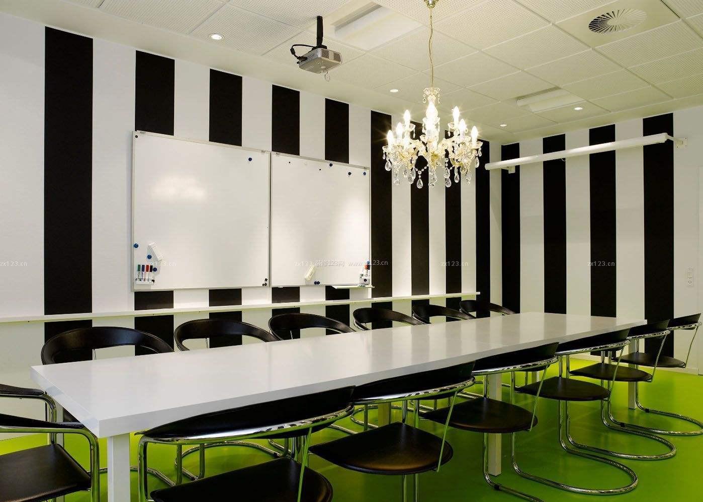 装修设计公司设计会议室整体布局