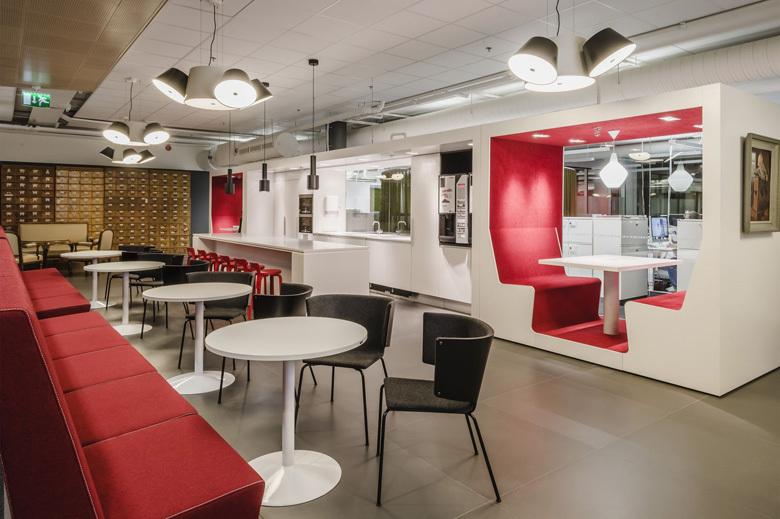 办公室装修员工休息区设计重点及效果