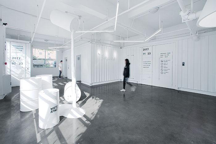 科技研发公司办公室装修设计案例