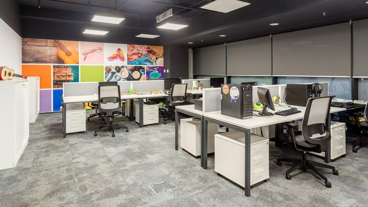 上海办公室设计装修之简约手法与理念