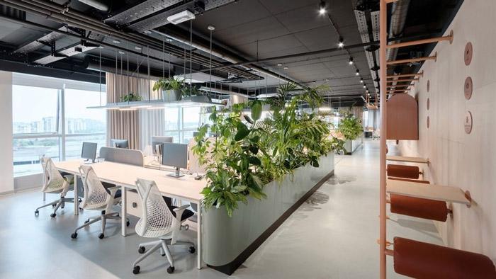 奉贤传媒公司办公室装修设计方案