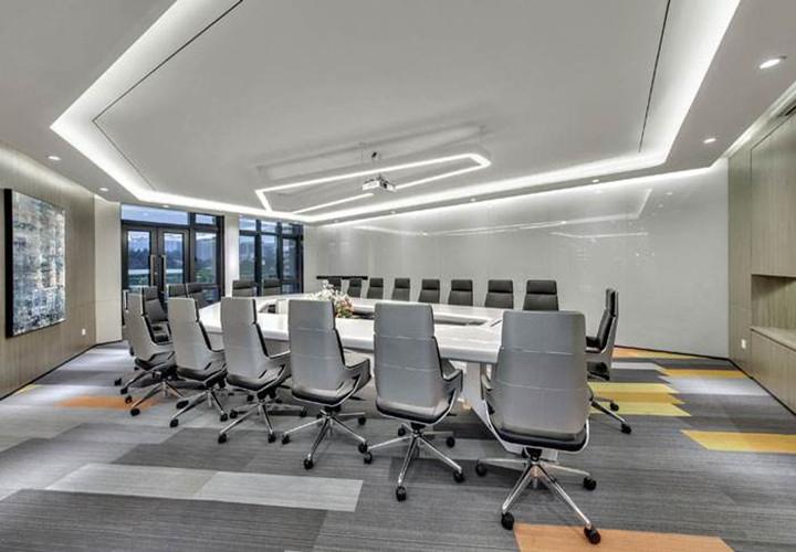 化工科技公司办公室会议室设计图片
