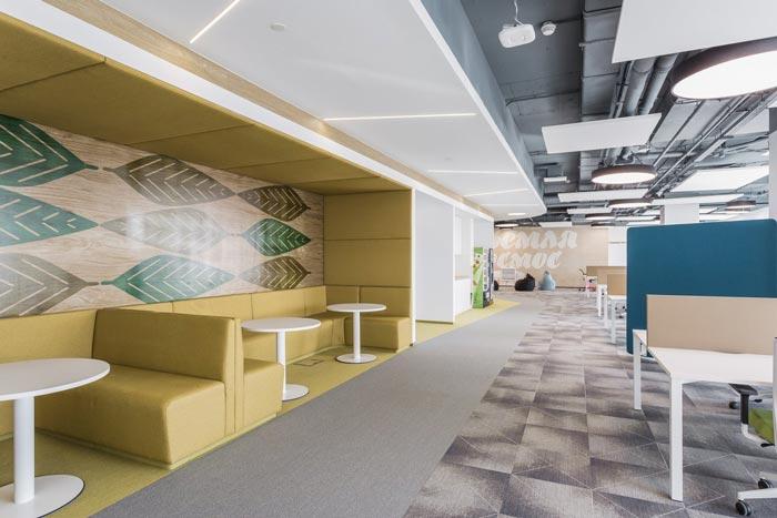 金融投资公司办公室接待区设计方案
