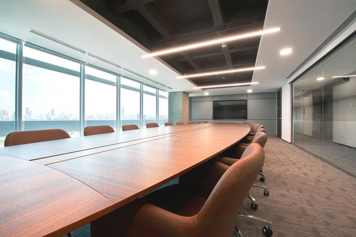 50平米的会议室设计效果