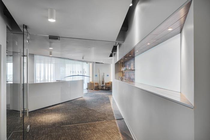投资公司办公室前台设计装修效果