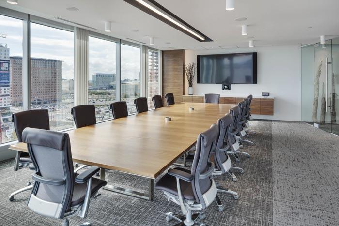 投资公司办公室会议室设计效果