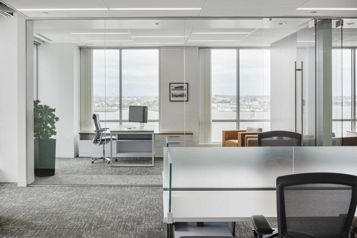 黄浦投资公司办公室设计装修效果