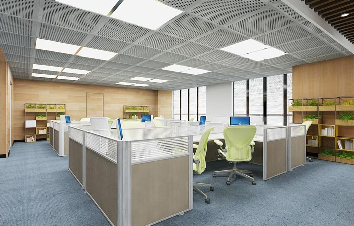 新能源科技公司办公室设计图片