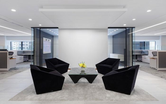 2000平米保险公司办公室设计图片