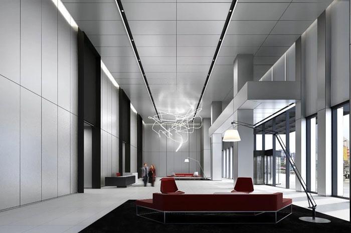 房地产公司办公室设计装修效果