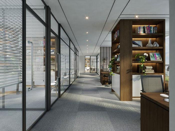 办公室过道走廊设计效果