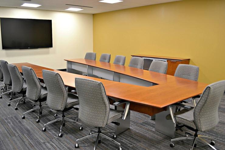 上海办公室设计-会议室设计效果图片..
