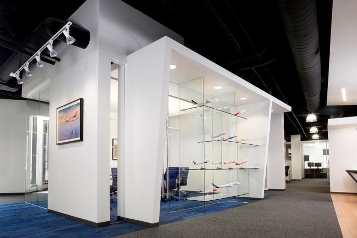 航空公司办公室装修设计图片