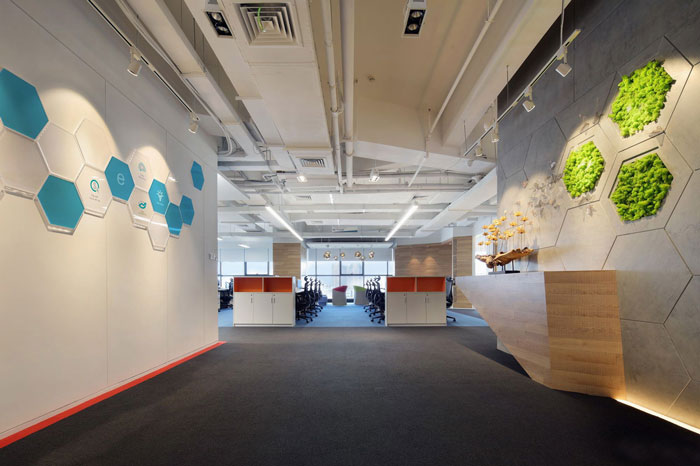 宝山办公室装修之金融控股公司办公室