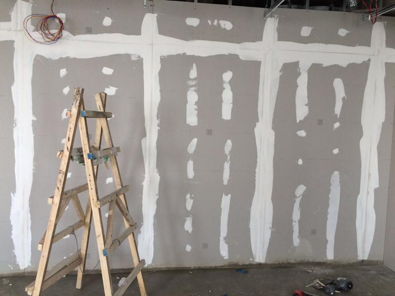 嘉定南翔办公室装修之木工施工阶段