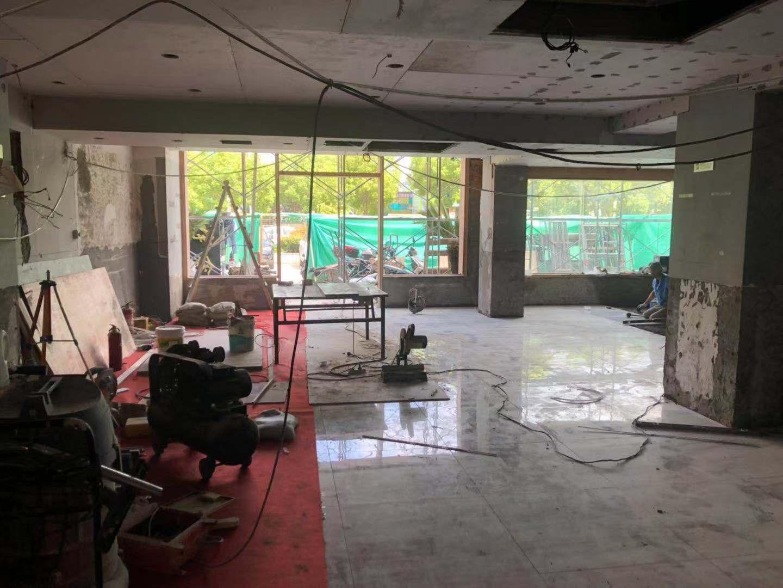嘉定饭店装修施工现场图片(500平米)