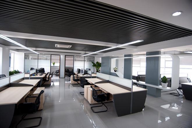 闵行写字楼装修中央空调的隔断