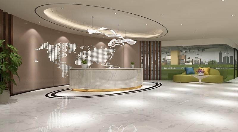 旅游公司办公室装修设计效果