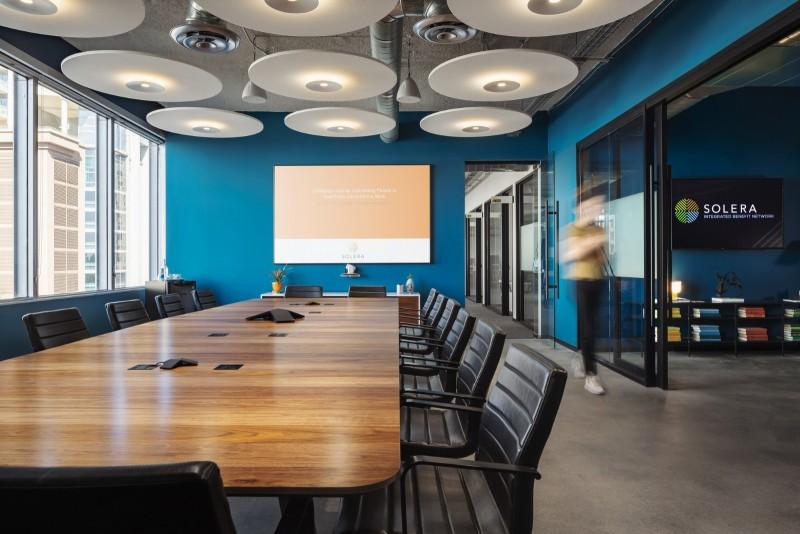 物流公司办公室装修设计效果