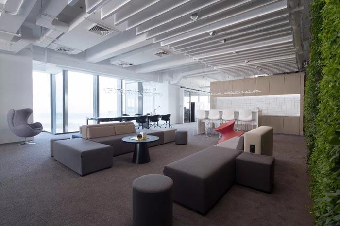 1300平米办公楼装修设计图片